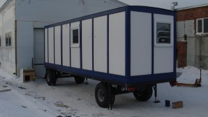 вагон-дом (бытовка)