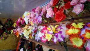 Венки корзины цветы ленты